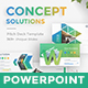 Concept Solutions Business Powerpoint Template