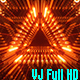 Triangle Bulb Tunnel - VideoHive Item for Sale