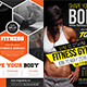 Fitness Flyers Bundle Template