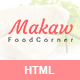 Makaw - Restaurant Bootstrap4 Template - ThemeForest Item for Sale