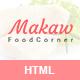 Makaw - Restaurant Bootstrap4 Template