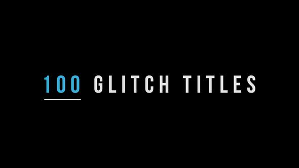 100 Glitch Titles