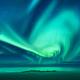 Aurora. Aurora borealis above the sea - PhotoDune Item for Sale
