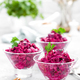 Beet salad. Salad of boiled beet. Beetroot salad - PhotoDune Item for Sale