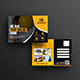 Construction Firm Postcard Template - GraphicRiver Item for Sale