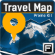 Travel Map - Promo Kit - VideoHive Item for Sale