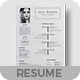 Word Resume - GraphicRiver Item for Sale