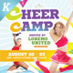 Cheer Camp Flyer Templates - GraphicRiver Item for Sale