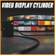 Video Display Cylinder - VideoHive Item for Sale