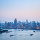 shanghai huangpu river and the bund in nightfall - PhotoDune Item for Sale
