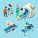 MRI Scanner Vector Illustration Isometric Medical - GraphicRiver Item for Sale