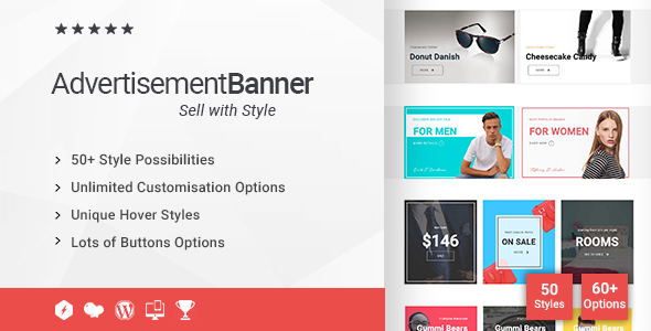 Advertisement Banner Addon for WPBakery Page Builder (formerly Visual Composer) - CodeCanyon Item for Sale