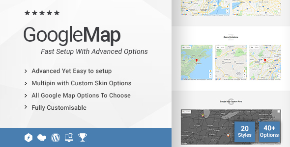 1 2 0] Creative Google Maps Addon for WPBakery Page Builder