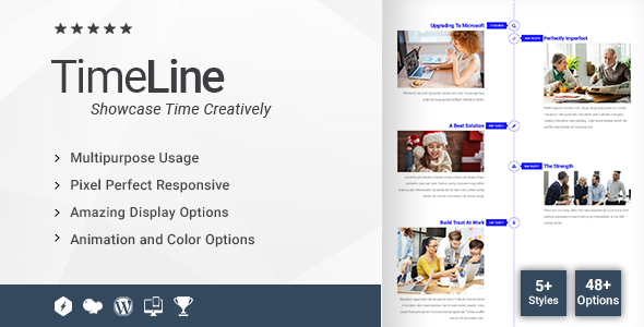 Time Line Addon for WPBakery Page Builder (formerly Visual Composer) - CodeCanyon Item for Sale