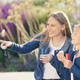 Happy mother and daughter with soap bubbles - PhotoDune Item for Sale