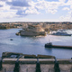 Valletta, Malta. Upper Barrakka Gardens and Saluting Battery. View of Grand harbor - PhotoDune Item for Sale