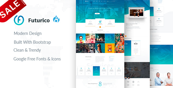 Image of Futurico - Multipurpose Drupal 8 Theme