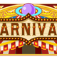Carnival Banner for Circus Ticket - GraphicRiver Item for Sale