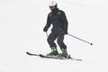 Skier under the snow. Winter sport. Ski slope. Horizontal - PhotoDune Item for Sale