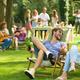 Friends sit on sunbeds - PhotoDune Item for Sale