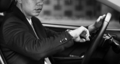 Businessman sitting in the car - PhotoDune Item for Sale