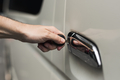 Unlocking a car door with a key - PhotoDune Item for Sale