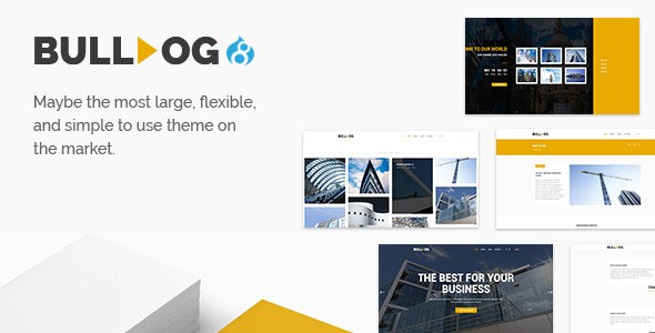 Image of Bulldog - Construction - Architect - Building - Builder Multipurpose Theme