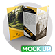 Tri Fold Brochure MockUps - Realistic Brochure MockUps - GraphicRiver Item for Sale