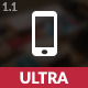 Ultra Mobile | The Ultimate Mobile Template - ThemeForest Item for Sale