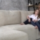 Mom and Daughter Are Sitting on the Couch - VideoHive Item for Sale