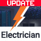 Electrician, electricity services HTML website template