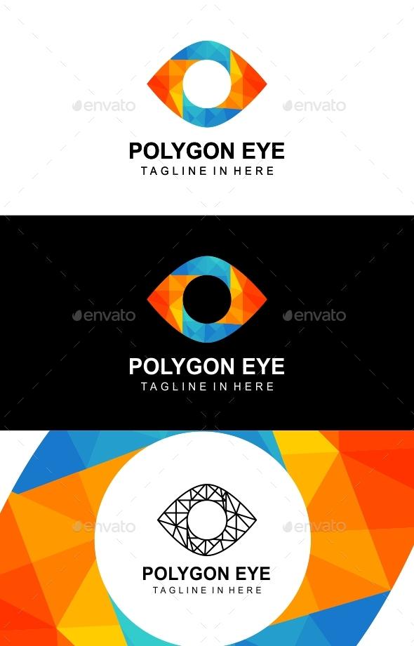 Polygon Eye - Objects Logo Templates
