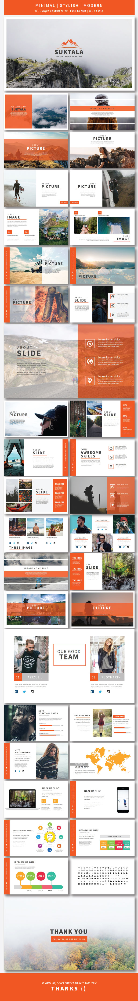 Suktala Google Slide Template - Google Slides Presentation Templates