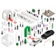Isometric Scheme of the Wedding Party - GraphicRiver Item for Sale