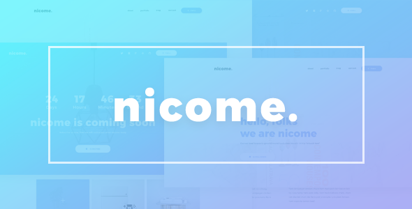 Image of Nicome - Creative Multipurpose Responsive HTML Template