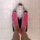 Woman Is Weighed On Scales - VideoHive Item for Sale