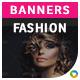 Fashion HTML5 Banners - 7 Sizes