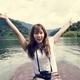 Asian woman enjoying an outdoor trip - PhotoDune Item for Sale