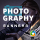 Photography HTML5 Banners - 7 Sizes