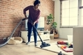 Black woman is cleaning room - PhotoDune Item for Sale