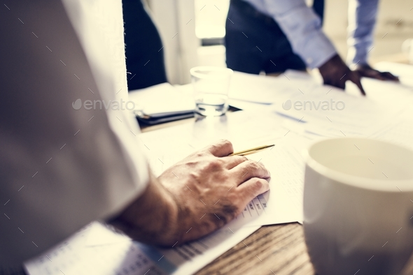 Business team work on strategy planing - Stock Photo - Images