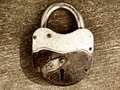 old rusty padlock - PhotoDune Item for Sale