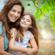 Happy mother and daughter portrait - PhotoDune Item for Sale