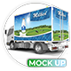 Lorry Branding Mock Up - Photorealistic Mock Up - GraphicRiver Item for Sale