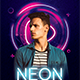 Neon Party Flyer - GraphicRiver Item for Sale