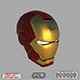 Iron Man Helmet with STL - 3DOcean Item for Sale