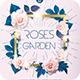 Roses Garden Flyer - GraphicRiver Item for Sale