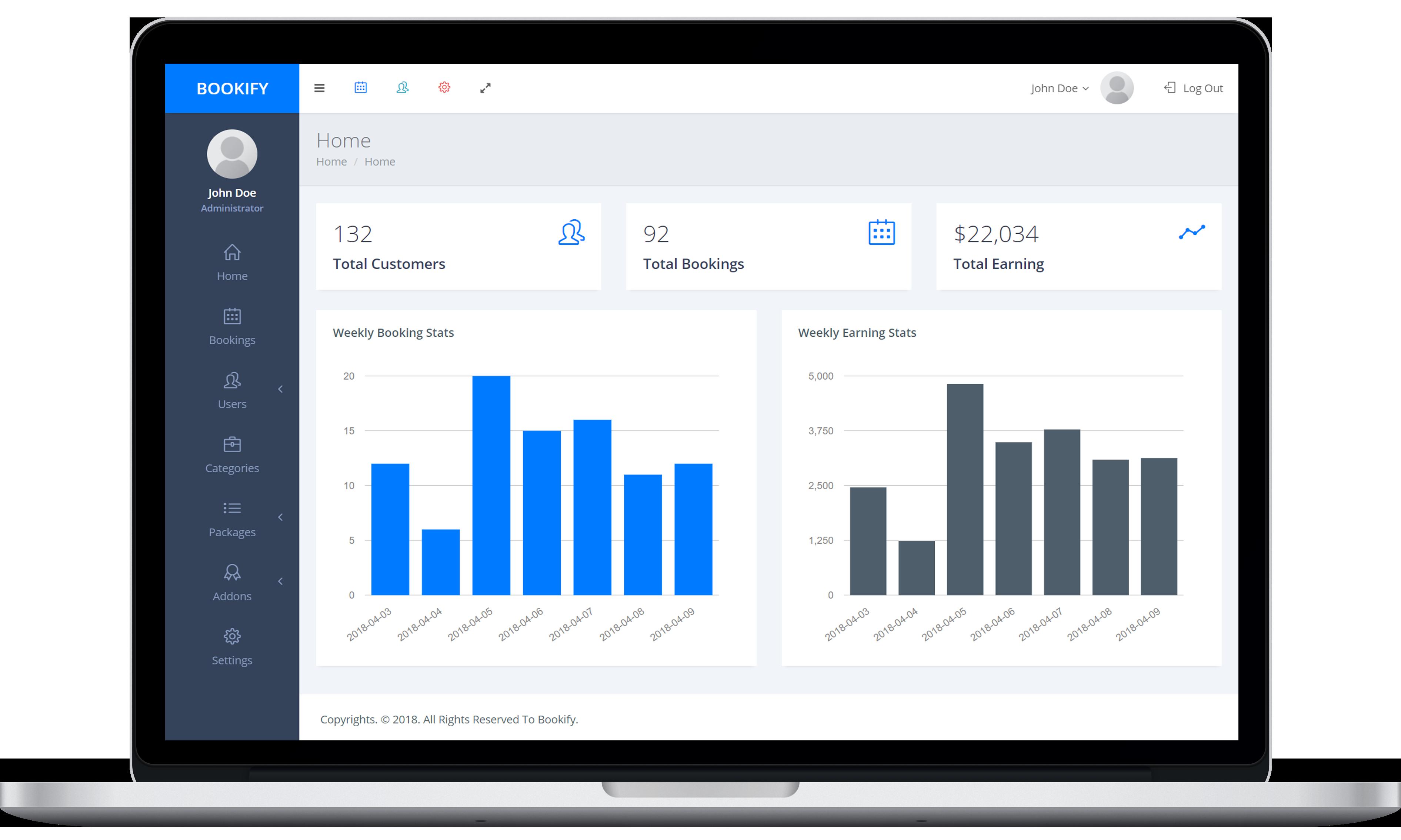 Bookify - Multipurpose Booking App