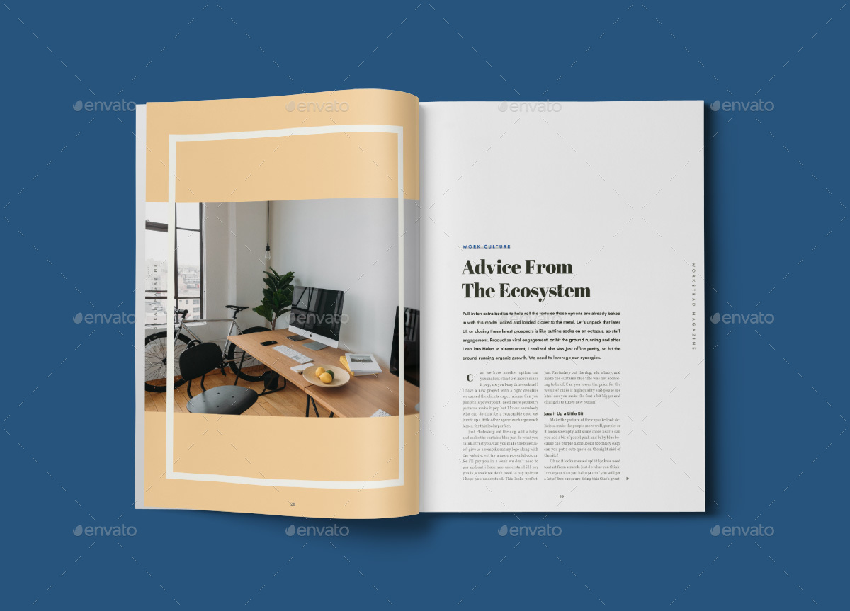 Fine Illustrator Magazine Template Ornament - Resume Ideas ...