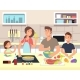 Family Cooking - GraphicRiver Item for Sale